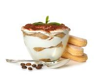 Dessert tiramisu Stock Images