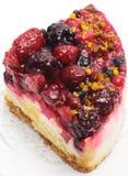 Dessert - torta delle bacche fotografia stock libera da diritti