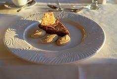Dessert - TRADITIONAL ITALIAN CHOCOLATE TORTE Stock Photography