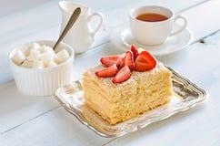 Dessert traditionnel léger Images libres de droits