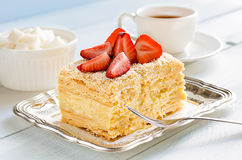 Dessert traditionnel léger Photo libre de droits