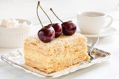 Dessert traditionnel léger Images stock