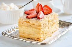 Dessert traditionnel léger Photographie stock libre de droits