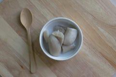 Dessert traditionnel ou thaïlandais thaïlandais image libre de droits