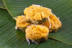 Dessert traditionnel thaï Images libres de droits