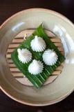 Dessert traditionnel thaï Photographie stock libre de droits