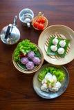 Dessert traditionnel thaï Photo libre de droits