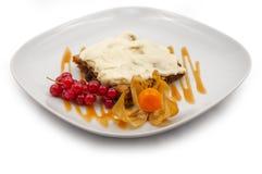 Dessert tradizionale Fotografia Stock