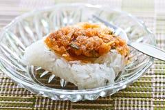 Dessert tradizionale tailandese immagine stock libera da diritti