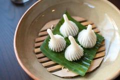 Dessert tradizionale tailandese Immagini Stock