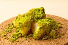 Dessert turco con fondo speciale Immagine Stock