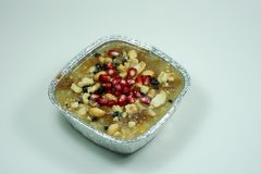 Dessert turco tradizionale Asure fotografie stock libere da diritti