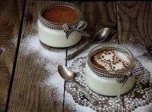 Dessert in un barattolo Immagini Stock