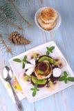 Dessert végétarien Images libres de droits