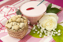 Dessert van Ecuador Royalty-vrije Stock Foto's