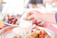 Dessert van Thailand stock fotografie