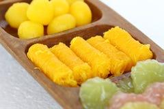 Dessert van Thailand. Royalty-vrije Stock Foto's