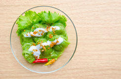 Dessert van Thailand royalty-vrije stock foto's