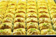 Dessert a variety of delicious Oriental sweets Royalty Free Stock Photo