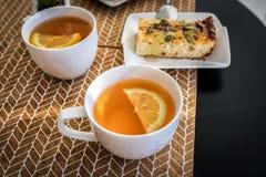 Dessert voor gemakkelijke, gezonde de graan-gestremde melk van het het restaurantontbijt van het ochtendhotel braadpan, braadpann royalty-vrije stock fotografie