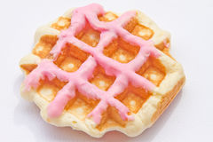 Dessert waffle Royalty Free Stock Photo