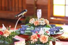 Dessert for worship muslim wedding Royalty Free Stock Photos