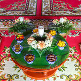 Dessert for worship muslim wedding Stock Photos