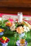 Dessert for worship muslim wedding Royalty Free Stock Images