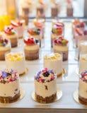 Dessertbuffet Royalty-vrije Stock Foto