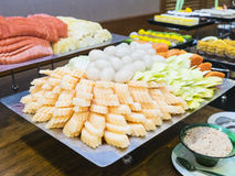 Dessertbuffet Stock Afbeeldingen