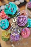 Dessertcakes royalty-vrije stock fotografie