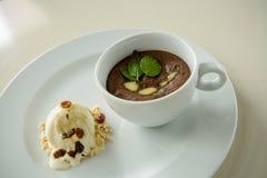 Dessertparfait Royalty-vrije Stock Fotografie