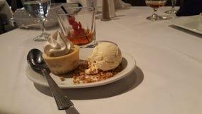 Dessertperfectie royalty-vrije stock afbeeldingen