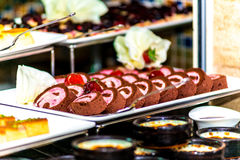 Dessertroulette Royalty-vrije Stock Afbeeldingen