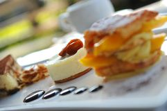 Desserts Royalty-vrije Stock Foto's