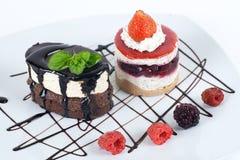 Desserts Stock Foto's