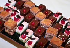 Desserts Royalty Free Stock Photography