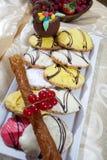 Desserts Royalty-vrije Stock Fotografie
