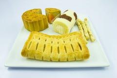 desserts Royalty-vrije Stock Foto