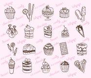 desserts Images libres de droits