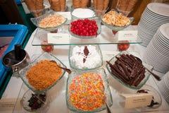 desserts Royalty-vrije Stock Afbeeldingen