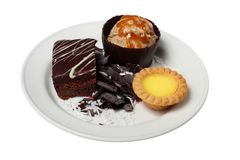 desserts Royalty-vrije Stock Afbeelding