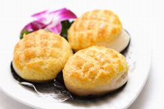 Desserts asiatiques Photos stock