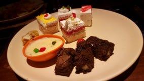 Desserts Royalty Free Stock Photo