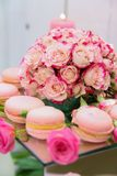Desserts and cakes. Prepared for the wedding festival, nsweet sweets are very tasty and cooked with love for heartbroken hearts royalty free stock photography
