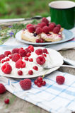 Desserts with cottage cheese Stock Photos