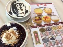 Desserts dans Chinatown Singapour Photographie stock libre de droits