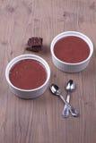 Desserts de chocolat Photo libre de droits