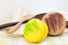 Desserts de Macaron Images stock