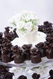 Desserts de mariage Photographie stock